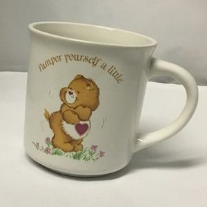 Vintage Care Bears coffee tea mug